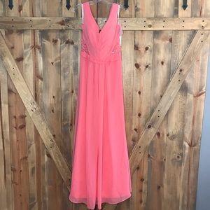 JJ's House Sleeveless Bridesmaid Prom Formal Dress